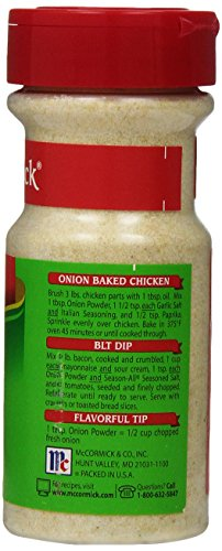 McCormick Onion, Powder 4.5-Ounce Units (Pack of 6 )