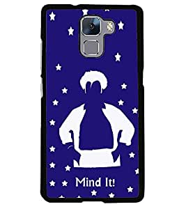 printtech Mind It Back Case Cover for Huawei Honor 7