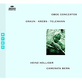 Krebs: Concerto in B minor for Harpsichord, Oboe, Strings and Continuo - 2. Amabile