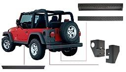Bushwacker Jeep Trail Armor Six Piece Set for Flat Style & Factory Flares