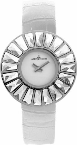 Jacques Lemans Rome SL Classic 1-1639B 31mm Stainless Steel Case Leather Mineral Women's Watch