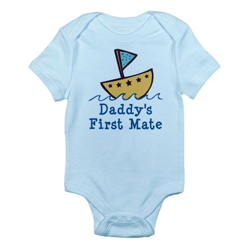 CafePress Daddy's First Mate Infant Bodysuit