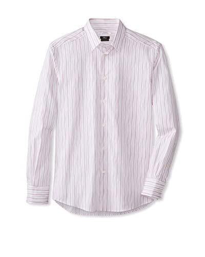 Versace Collection Men's Striped Woven Shirt