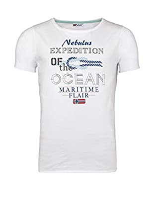 Nebulus Camiseta Manga Corta Vitus (Blanco)