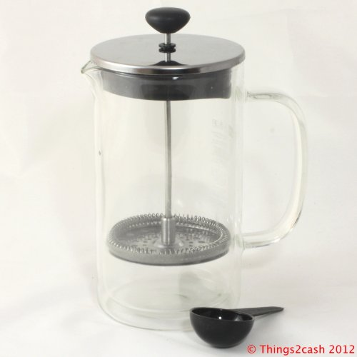 Buy Special Kitchen & Housewares : Bodum Bistro Double Wall Glass Thermal French Press Coffee ...