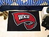 Fanmats 01330 Western Kentucky University Starter Rug