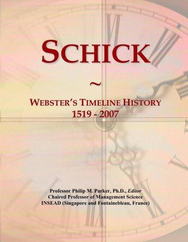 schick-websters-timeline-history-1519-2007