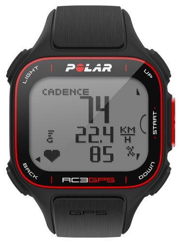 POLAR(ポラール) トレーニングコンピューター RC3 GPS 【心拍センサー無し】 ブラック 90044686