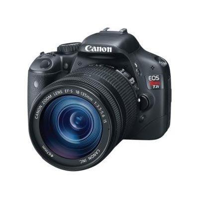 Canon EOS Rebel T2i 18 MP CMOS APS-C Sensor DIGIC 4 Image Processor Full-HD Movie Mode Digital SLR Camera and EF-S 18-135mm f/3.5-5.6 IS UD Standard Zoom Lens (Discontinued by Manufacturer)