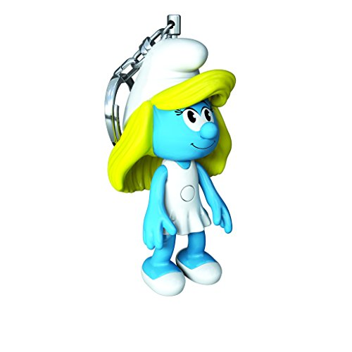 Recreation Gazzetta Portachiavi Key Light Puffi Smurfette Girl LED - The Smurfs