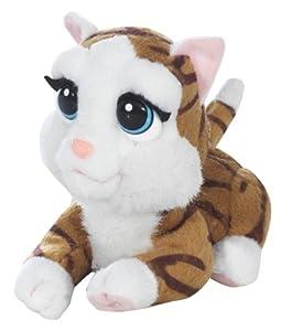 Giochi Preziosi 70302811 - Emotion Pets Little Cuddles Funktionsplüsch-Katze, cherry