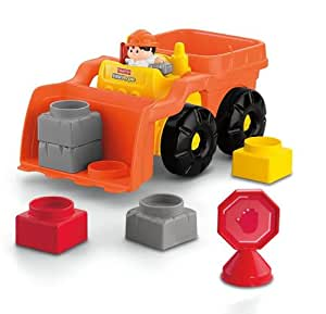 Fisher-Price Little People Builders Build 'n Drive Front Loader