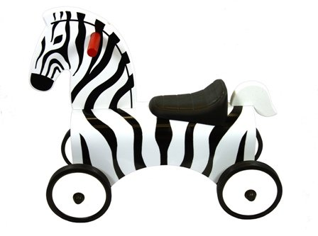 Great Gizmos Ride On Zebra