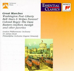 Great Marches by John Philip Sousa/Eric Coates, Ludwig van Beethoven/Carl Teike, Joseph Franz Wagner/Victor Herbert, Kenneth J. Alford/William Steffe and Richard Rodgers/Sir Henry Walford Davies