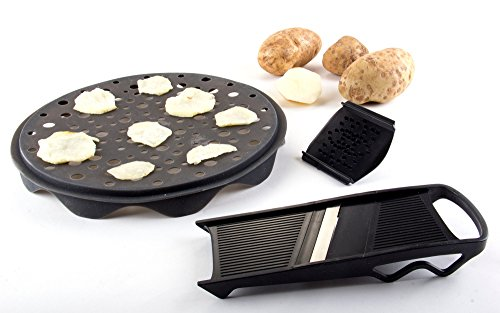 Healthy Chips Maker and Slicer Set - 3 Piece Chips Maker (Healthy Potato Chip Maker compare prices)