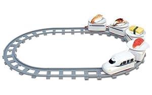 電車 おもちゃ トレイン 回転寿司 くるくる回るよ!お寿司トレイン 受け皿8枚付き