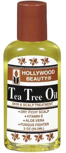 Hollywood Beauty Tea Tree Oil, Skin And Scalp Treatment 2 Oz (Pack Of 4)