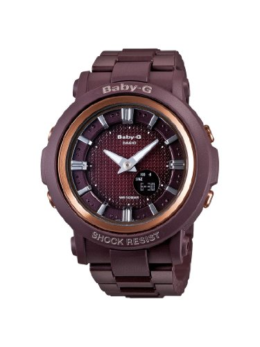 Casio Baby-G BGA301-4ACR 41mm Brown Plastic Band & Case Mineral Women's Watch