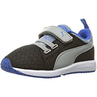 PUMA Carson Runner Night Camo Kids Running Shoes (Black Limestone)
