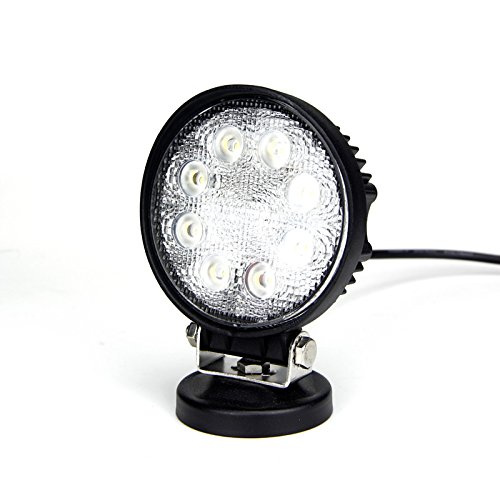 "All Good Led 4"" 27 Watt Epistar Led Work Light Round Spot"