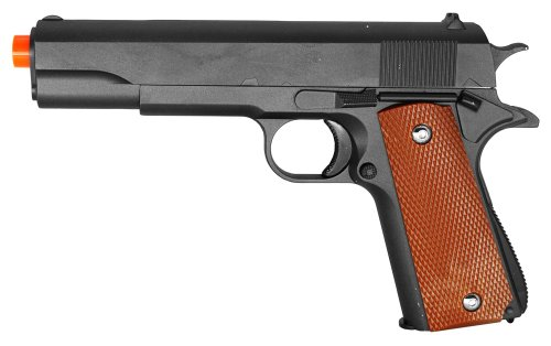 Galaxy G13 Full Metal 1911 Style Spring Airsoft Gun 240 FPS w/.20g BBs