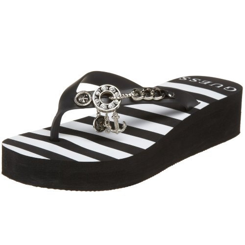 GUESS Women's Edgy Flip Flop