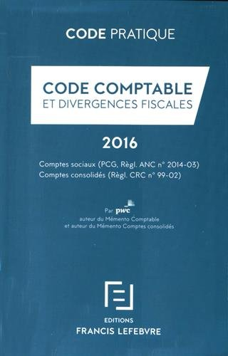 CODE COMPTABLE 2016