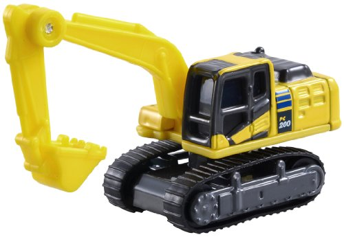 Takara Tomy Tomica No.9 - Komatsu Power Shovel Pc200-10 (Blister) - 1