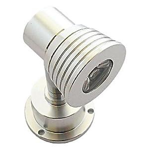 3W 180-200LM 3300-3500K Warm White Light LED Wall Spotlight Mirror Wine Cabinet Lamp (AC85-265V) from UBE