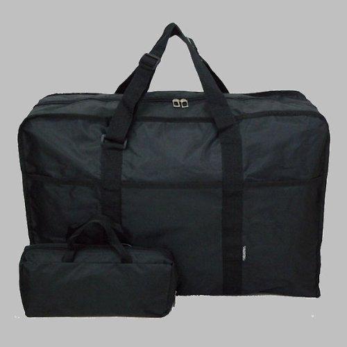 収納バッグ付き 大容量ポケッタブル ボストンバッグ Franco Valentino 旅行鞄2点セット