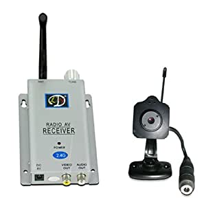 Wireless Color Spy Video Camera Complete Package