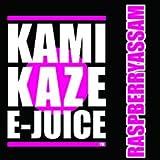【純国産】KAMIKAZE E-JUICE 15ml 電子タバコ VAPE用リキッドジュース (RASPBERRYASSAM:ラズベリーアッサムフレーバー, 15ml)