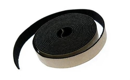 Adhesive Backed Gray Felt Weather Stripping - 25 Ft Long Roll, 1/8