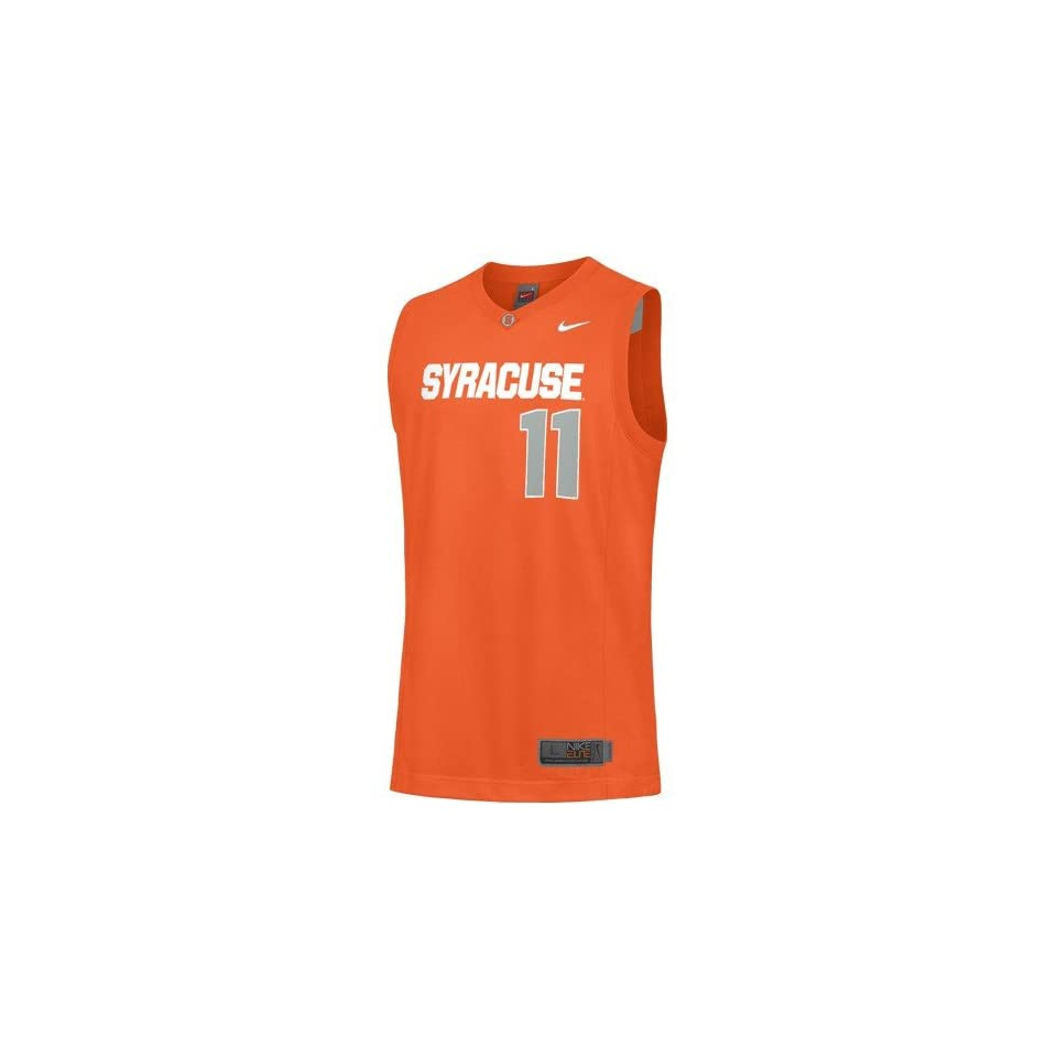 Syracuse Orange 11 Orange Youth Replica Basketball Jersey Sports On