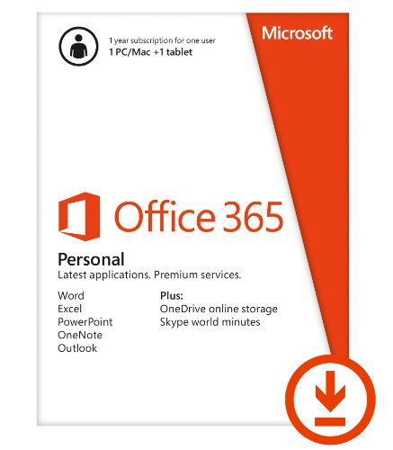 Microsoft Office 365 Personal 1yr Subscription [Download]