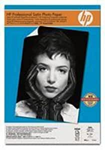 HP Q8839A Professional Satin Photo Paper, 13 X 19 Inches, 25 Sheets