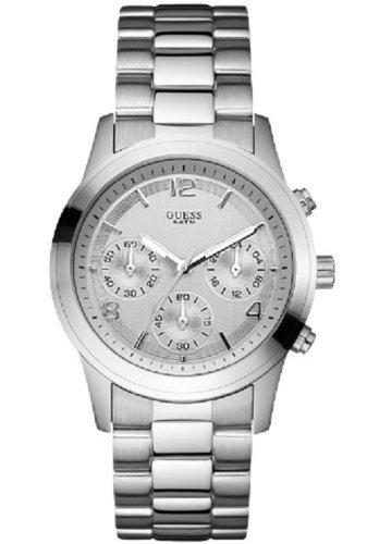 Guess Ladies Chronograph Watch W12086L1 with Silver Dial