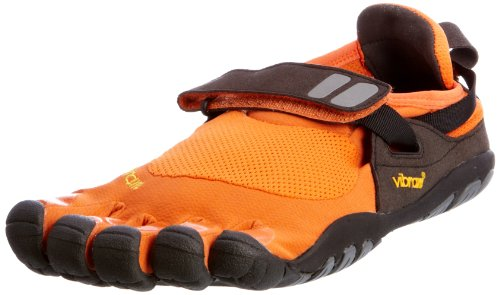 Vibram FiveFingers Men's TrekSport Orange-Black-Grey