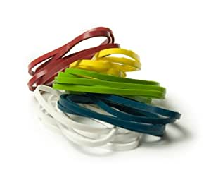 Architec Stretch Cooking Band, 2-Inch, Package 25, Assorted Colors