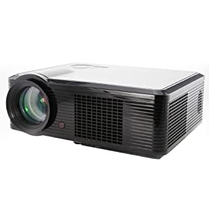 HD 1080P Home Theatre LED Projector 30000Hours 800*600 2000Lumens HDMI TV 1000:1