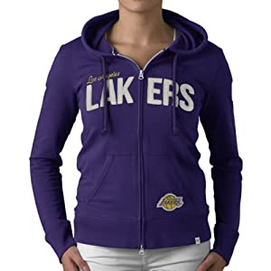 NBA Los Angeles Lakers Pep Rally Full Zip Fleece Jacket, Grape by