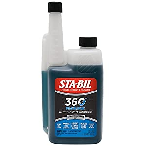 STA-BIL 360 22240-6PK Marine with Vapor Technology, 32 oz.
