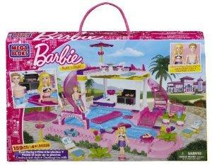 Mega Bloks (メガブロック) Barbie (バービー) Pool Party ブロック おもちゃ (並行輸入)