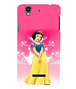 printtech Disney Bella Girl Princess Back Case Cover for YU Yureka Plus :: Micromax Yureka AO5510