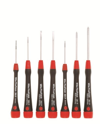 Wiha 0504 PicoFinish Screwdriver Set (7 Pc)