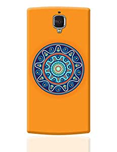 PosterGuy OnePlus 3 Case Cover - Circular Geometric Pattern | Designed by: Palna Patel