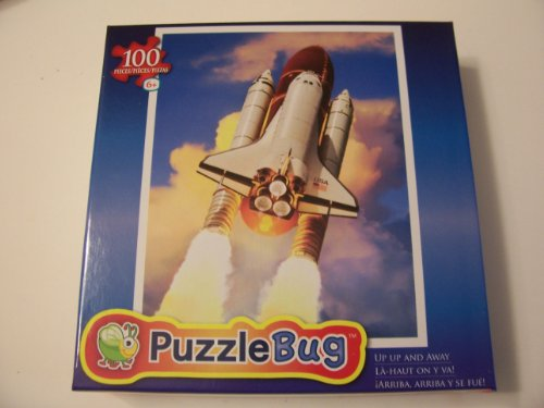 Puzzlebug 100 Piece Jigsaw Puzzle - Up Up and Away (Space Shuttle Launch) - 1