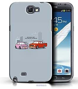 PrintFunny Designer Printed Case For SamsungNote2
