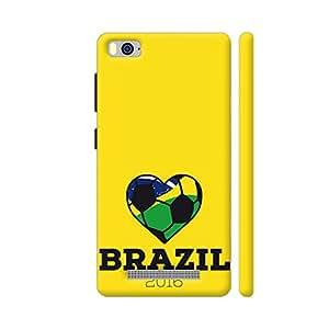 Colorpur Brazil Soccer Shirt 2016 Artwork On Xiaomi Mi 4i Cover (Designer Mobile Back Case) | Artist: Torben
