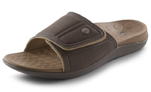 Orthaheel Kiwi Unisex Slide (brown) - Sizes 6-13 (size=M9 / W10) Deals